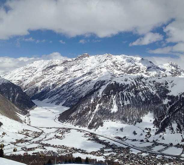 Montaña en Livigno