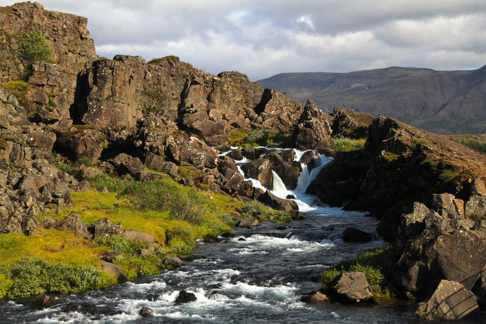 Agua en Thingvellir National Park