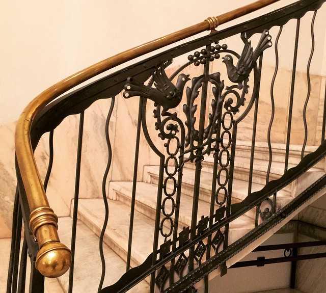 Pasamano en Four Seasons Hotel Gresham Palace
