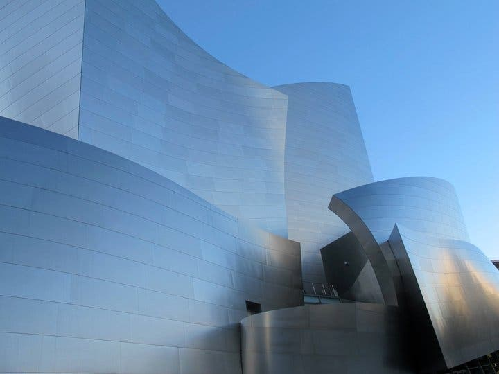 Central eléctrica en Walt Disney concert hall