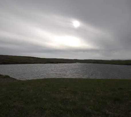 Horizonte en Lago Systravatn