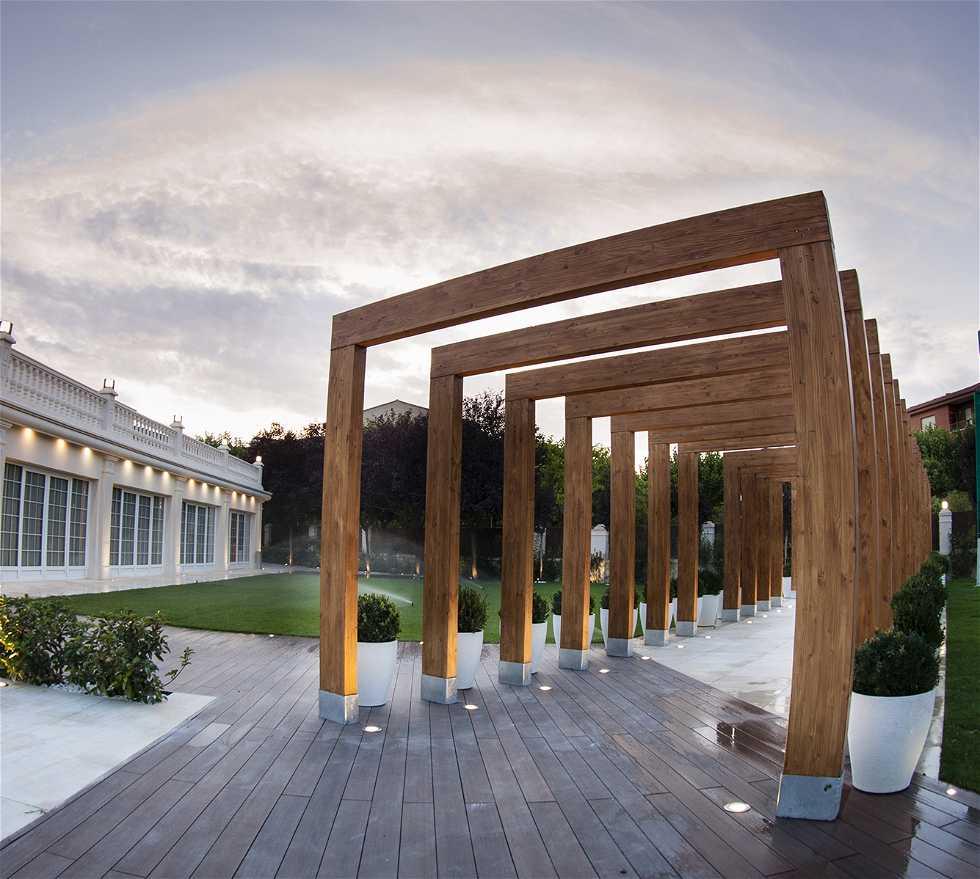 Arquitectura en Restaurante Epílogo