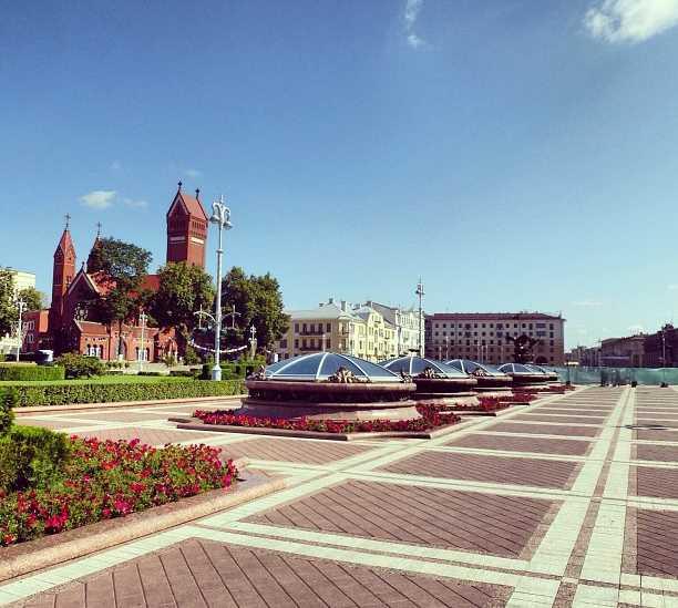 Skyline en Minsk