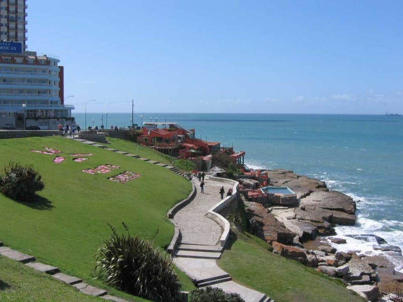 Sea in Mar del Plata