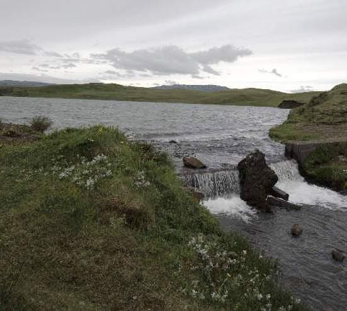 Orilla en Lago Systravatn