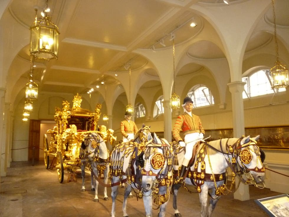 Músico en Royal Mews