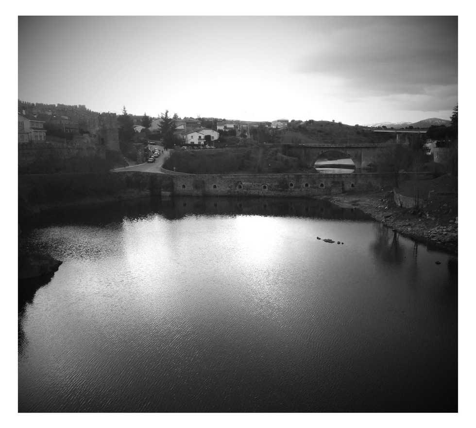 Blanco y negro en Buitrago del Lozoya