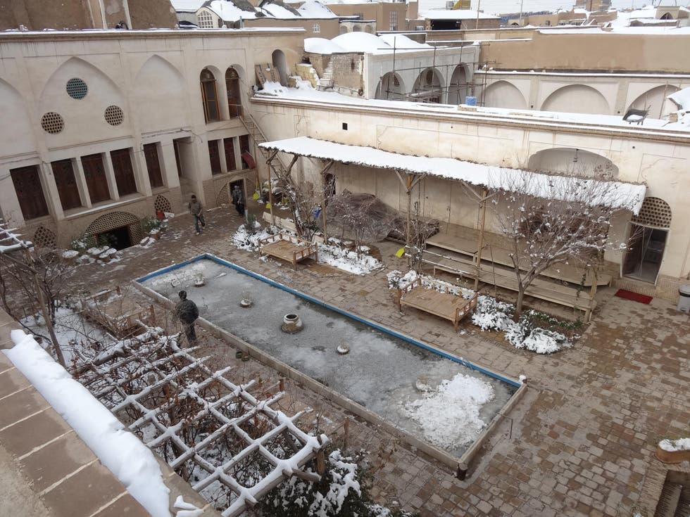 Construction in Kashan