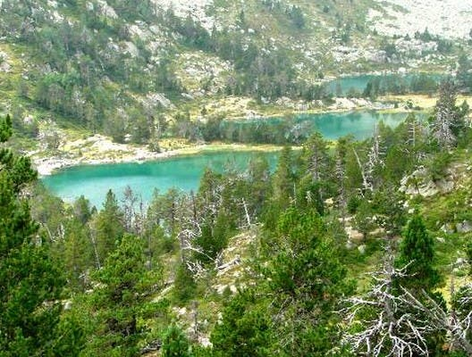 Embalse en Saint-Lary-Soulan