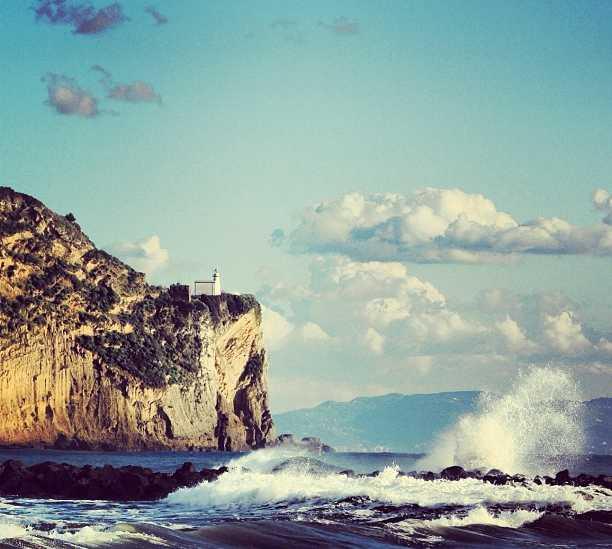Sea in Bacoli