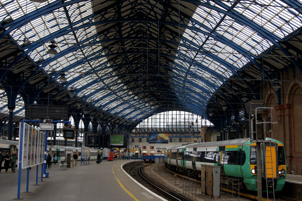 Edificio en Brighton Rail Station