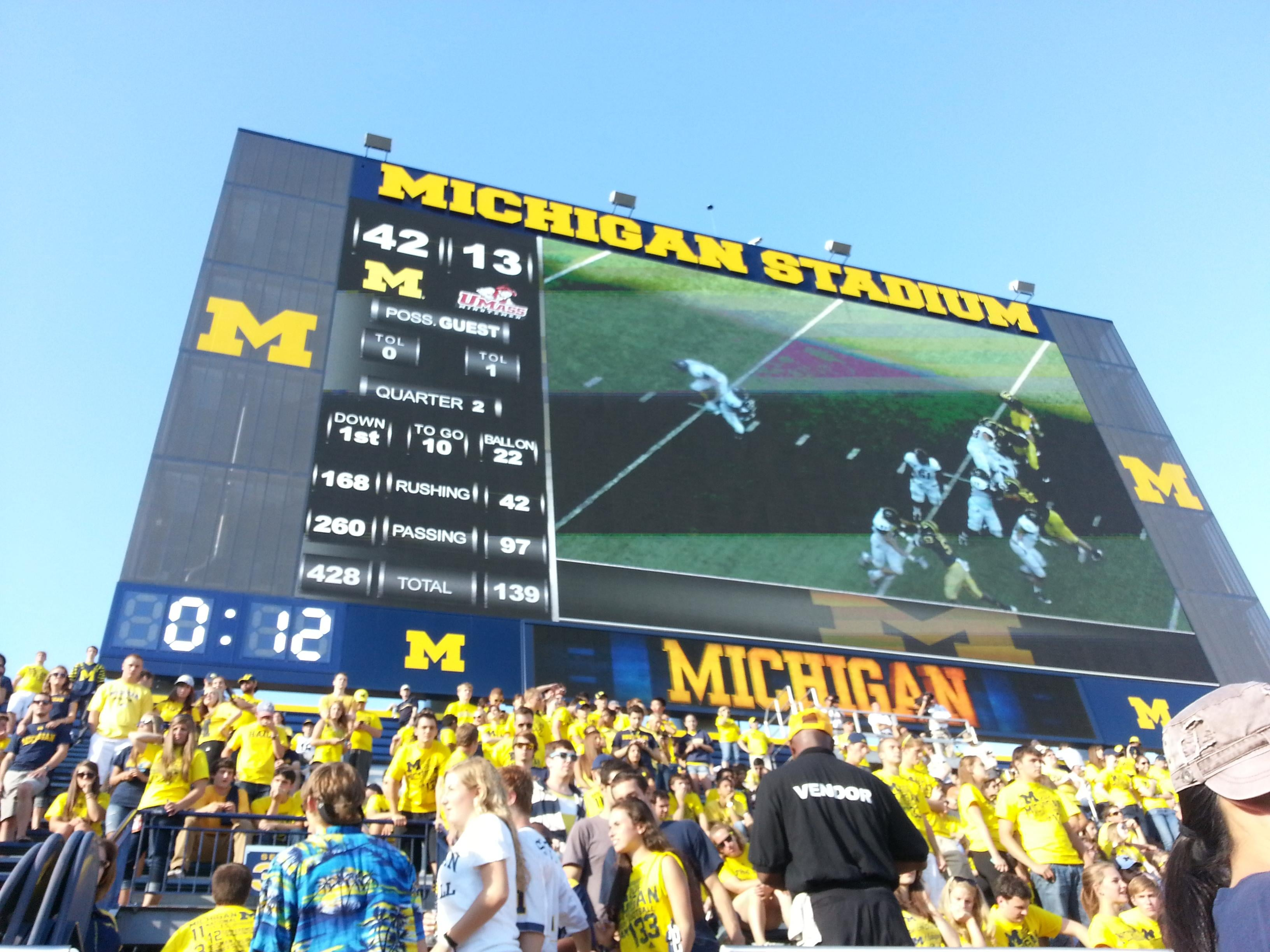 Billboard in Ann Arbor