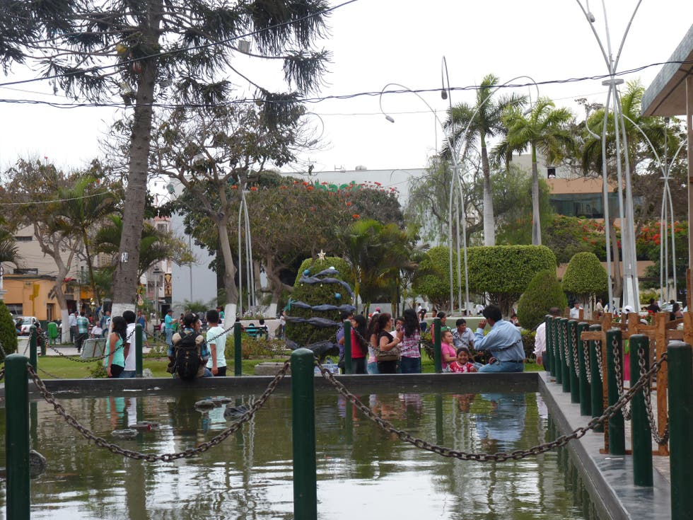 Canal en Catedral Chiclayo