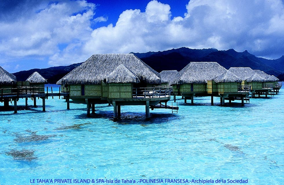 Vacation in French Polynesia