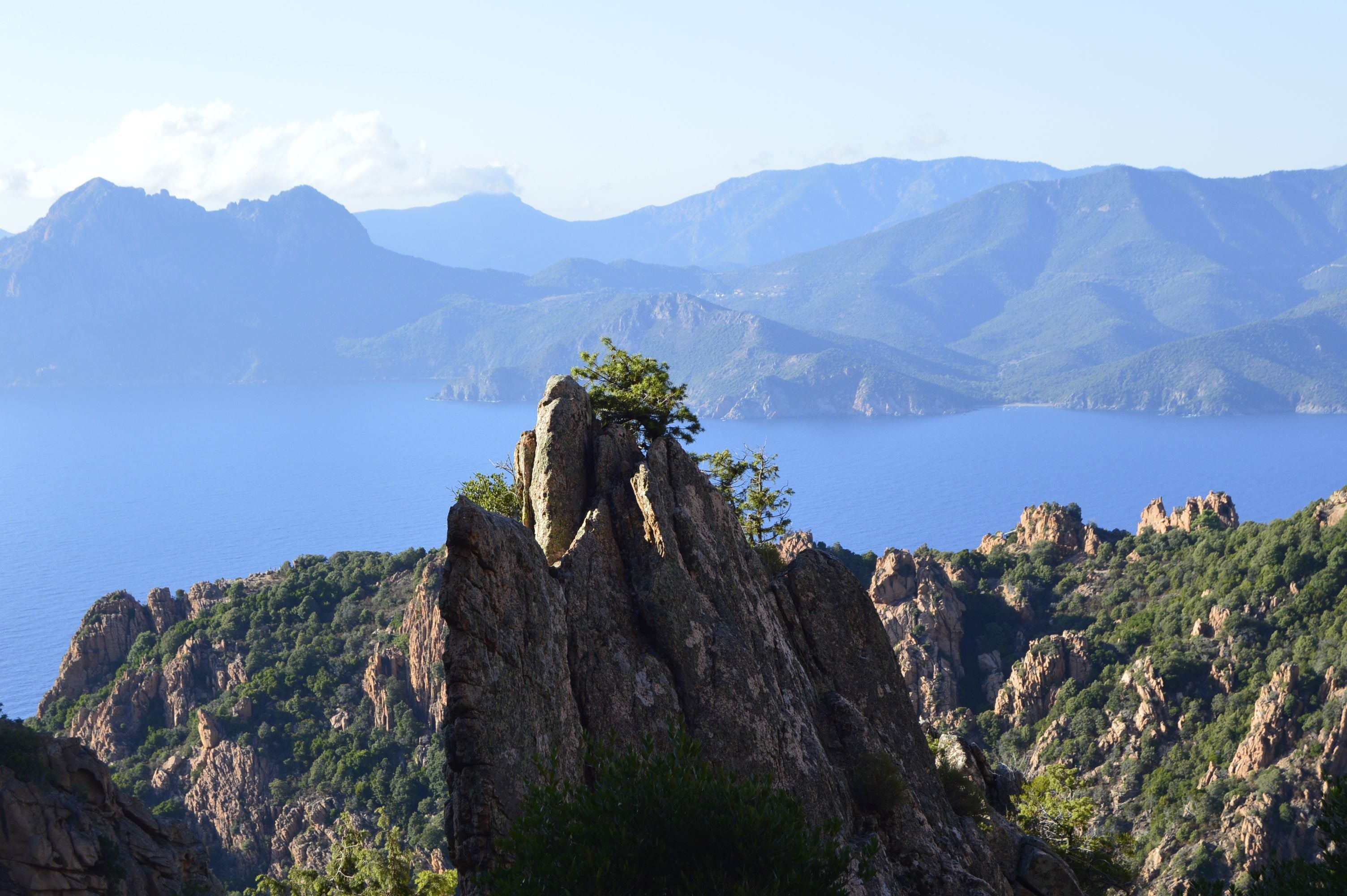 Wilderness in Mirador de Calanches de Piana