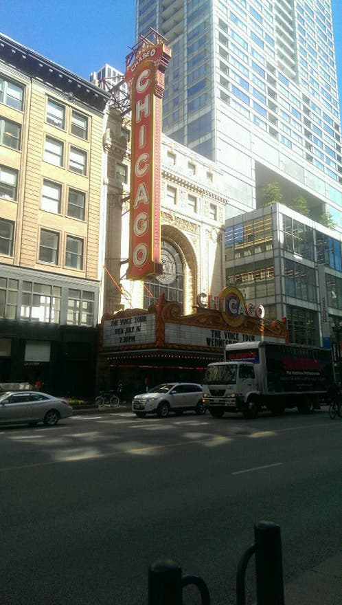 Plaza en Chicago Theatre