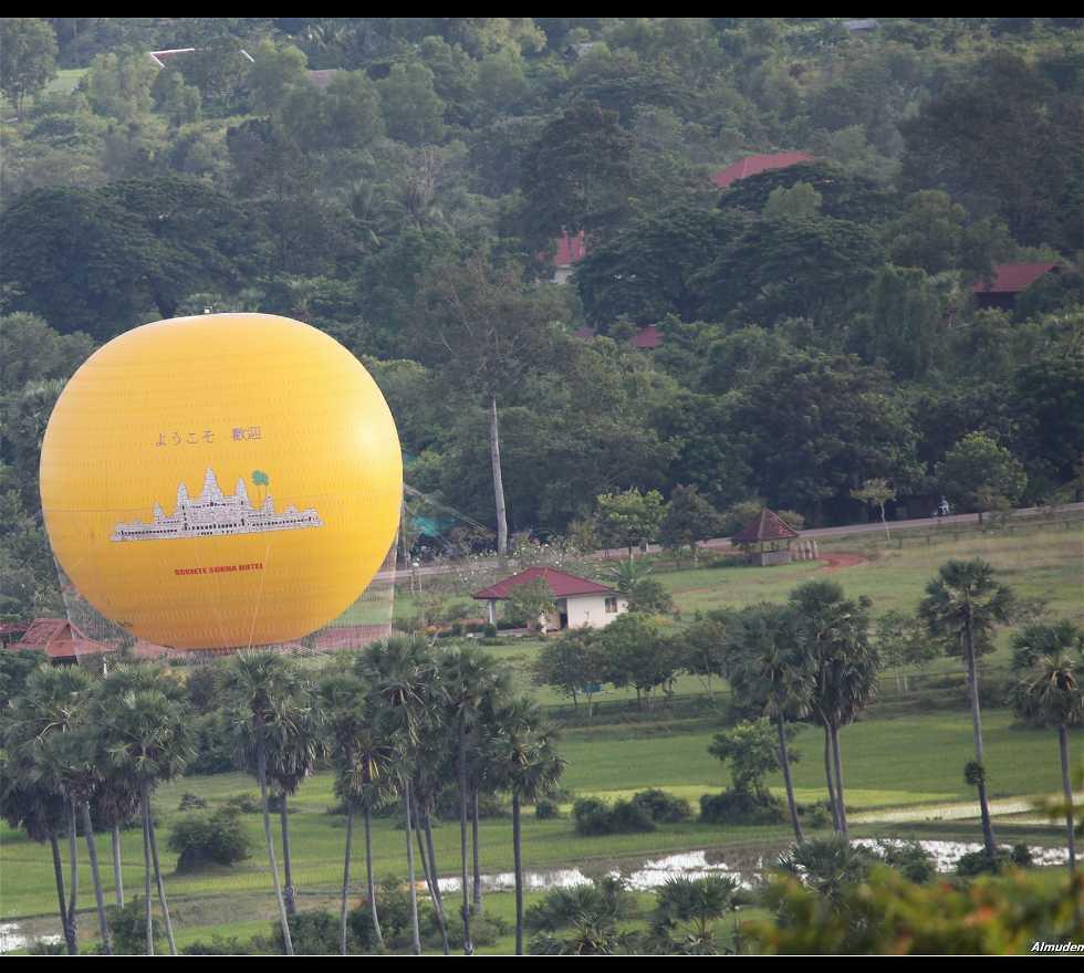 Vista con globo incluído