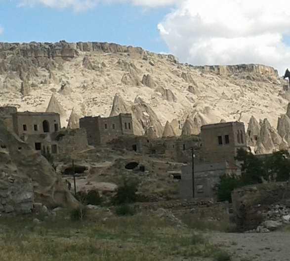 Choza en Monasterio de Selime