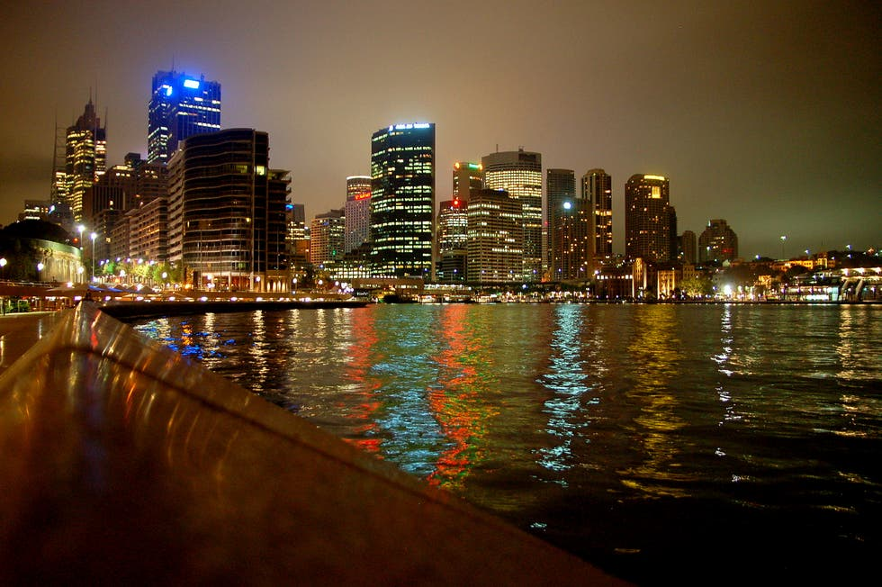 Vista del downtown de Sydney