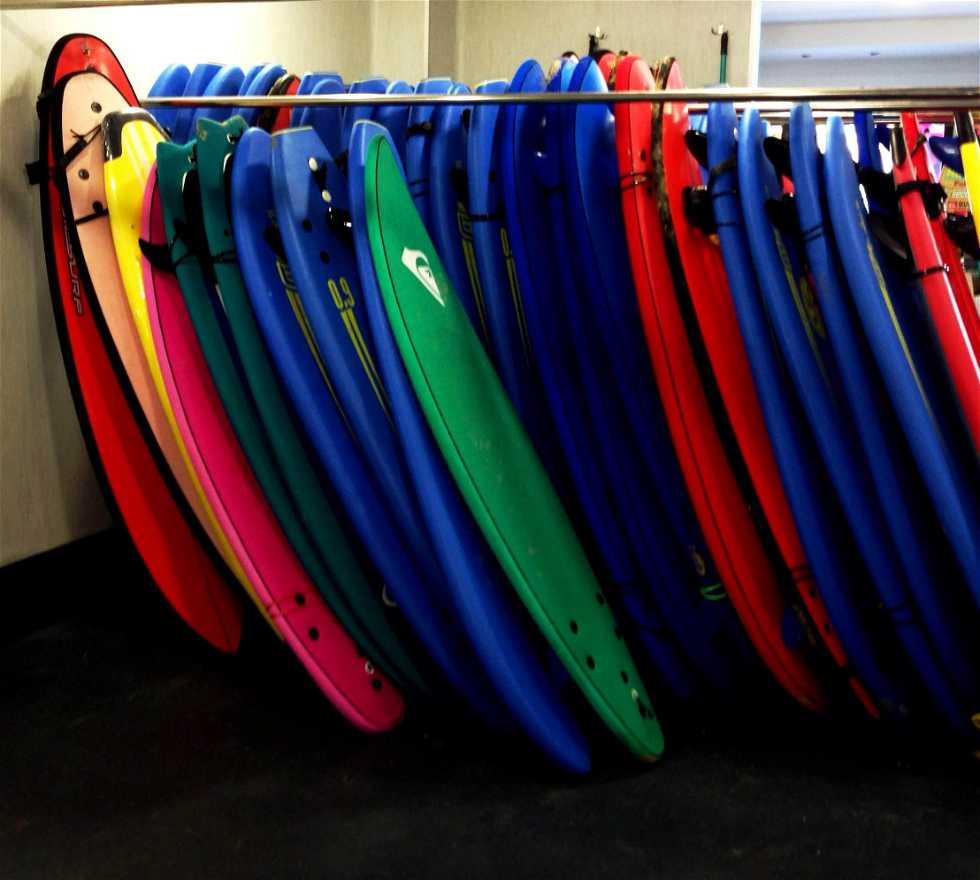 Bolso en Escuela Cántabra de Surf
