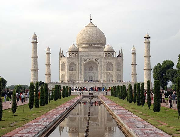 Transporte en Taj Mahal