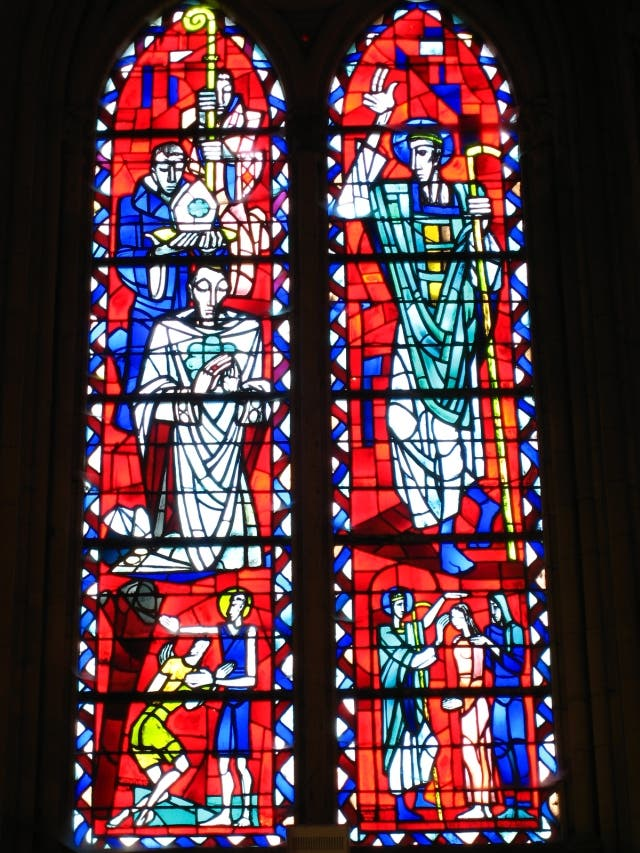 Cathedral in Coutances