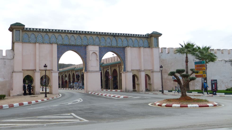 Arco en Bab Moulay Ismail