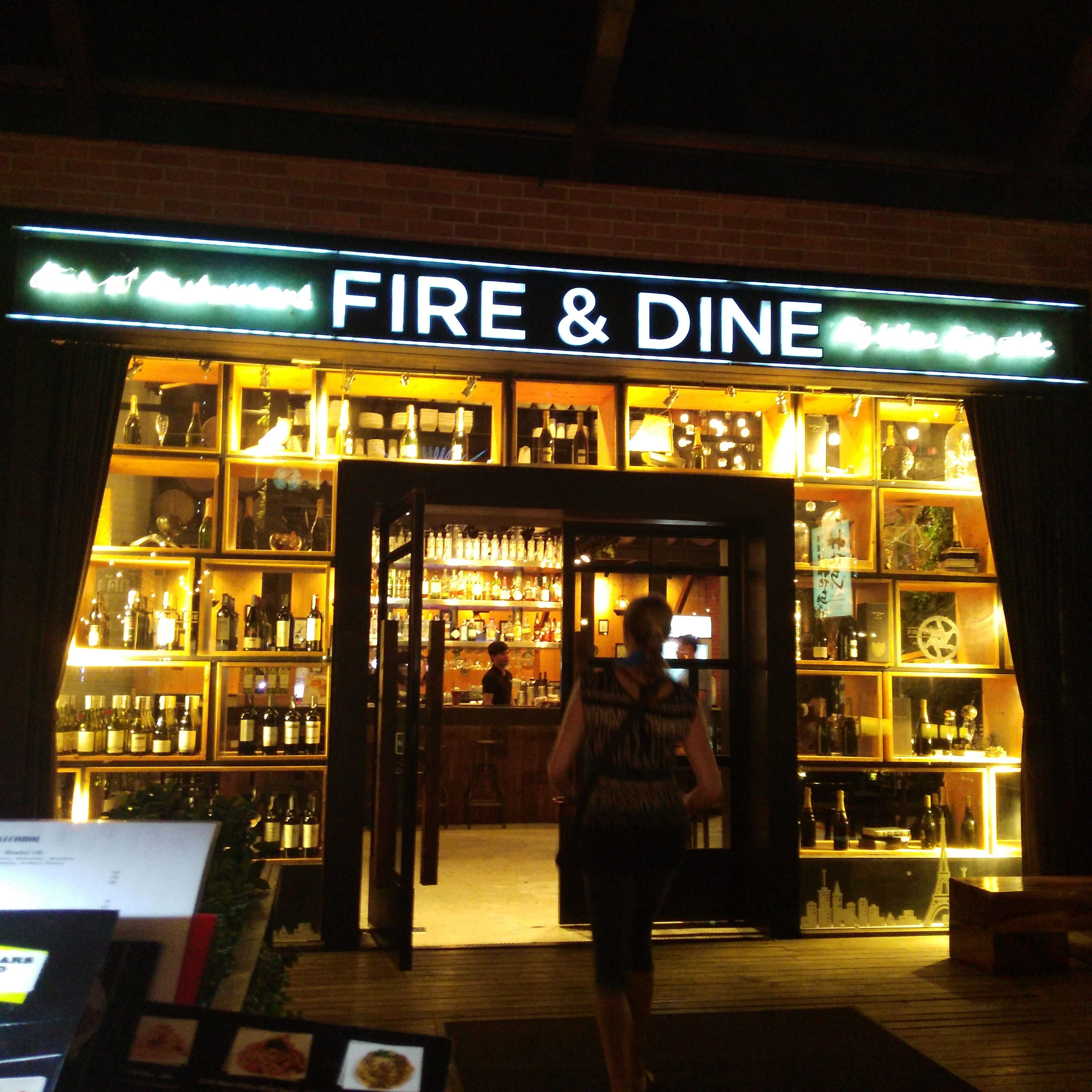 Retail Store in Fire & Dine