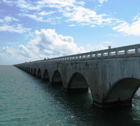 Coluna em Key Largo