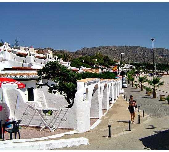 Pueblo en L'Almadrava