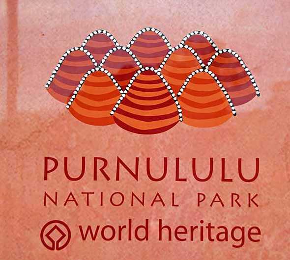 Fuente (tipografía) en Parque Nacional Purnululu