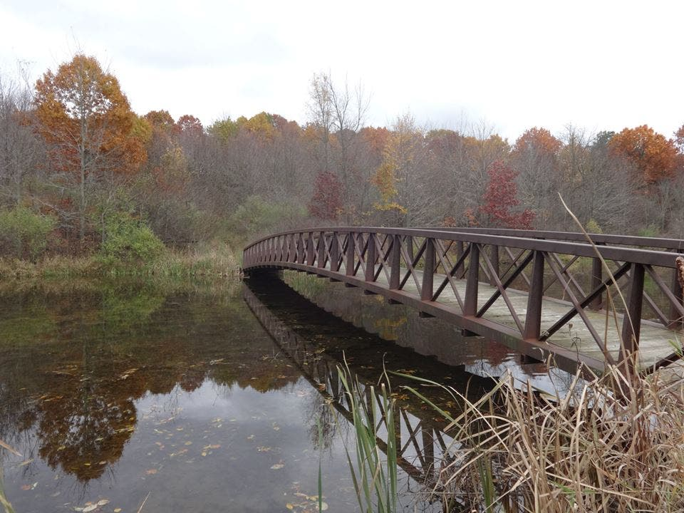 Puente en Sleepy Hollow State Park
