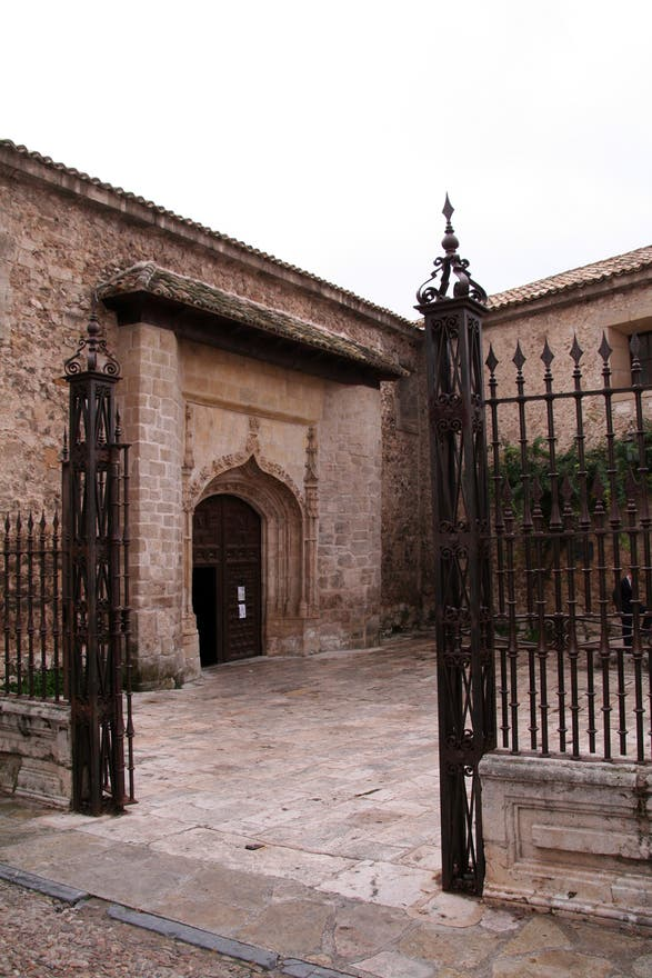 Courtyard in Pastrana
