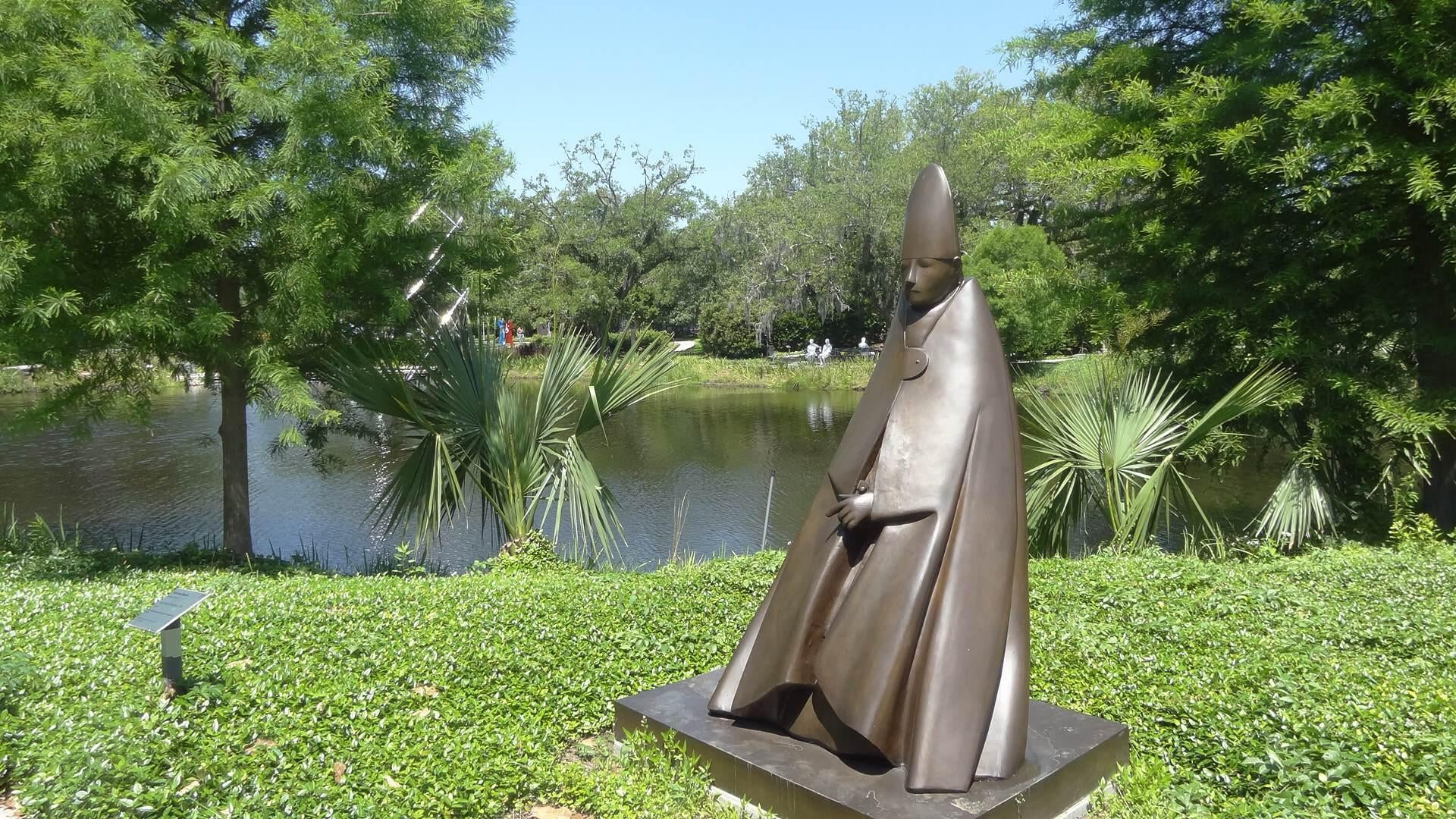 Statue in The Sydney and Walda Besthoff Sculpture Garden at NOMA