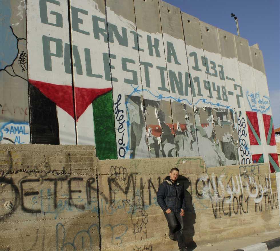 Mural en Hebron