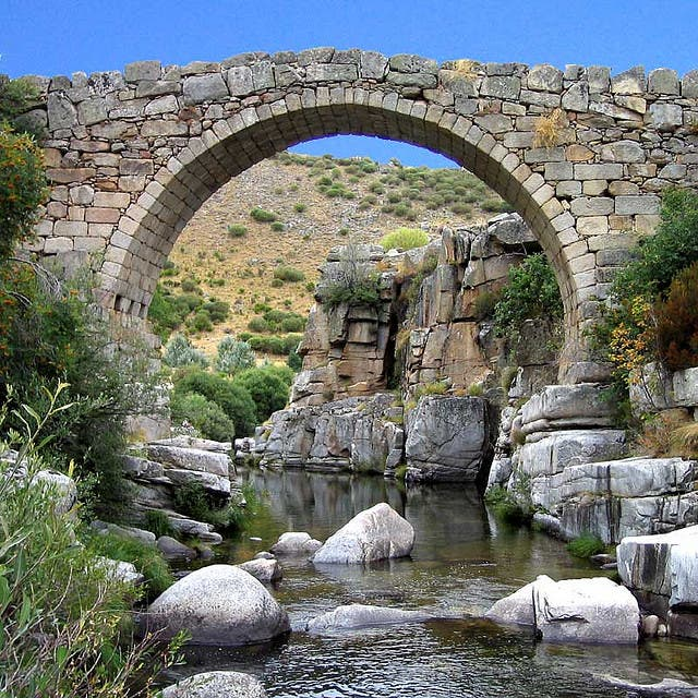Bridge in San Juan de Gredos
