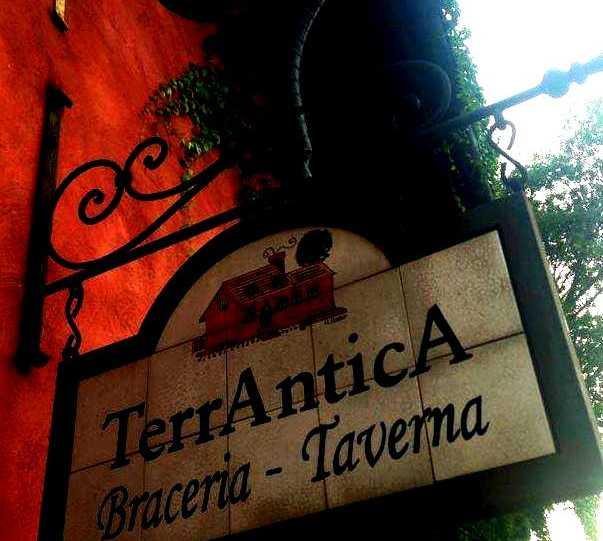 Señal en TerrAntica Ristorante Braceria