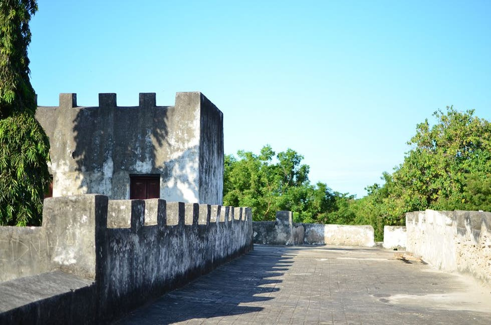 Pared en Old Fort