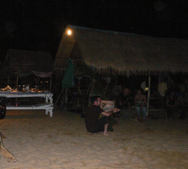Noche en Thai Bar
