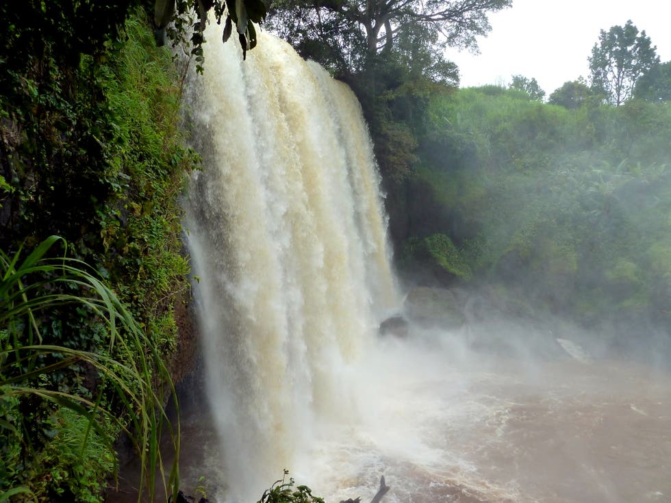 Waterfall in Cameroon