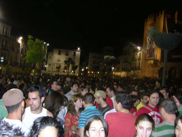 Multitud en WOMAD