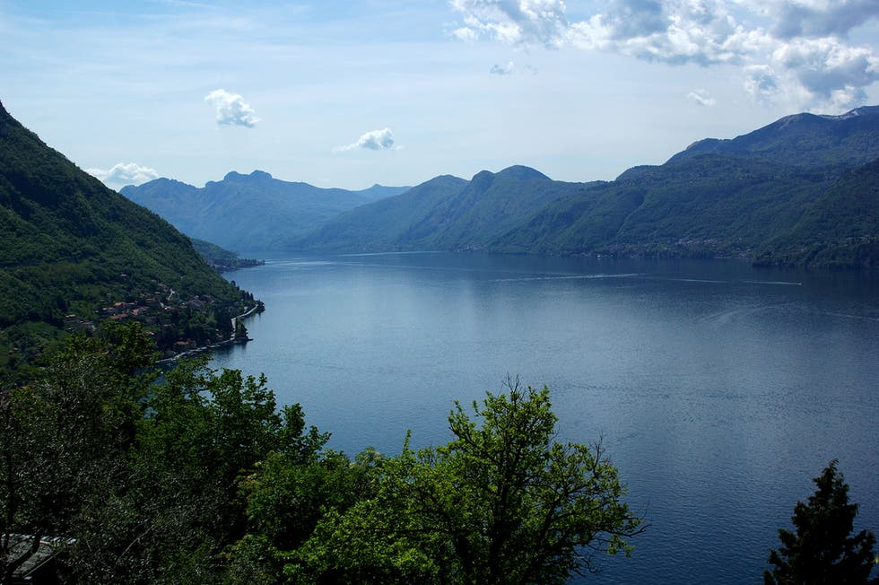 Crater Lake in Como