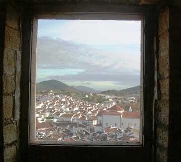 Porta em Castelo de Vide