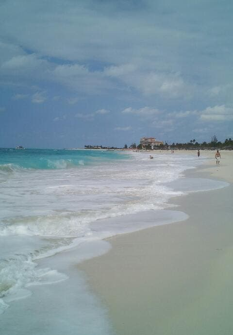Beach in Providenciales and West Caicos