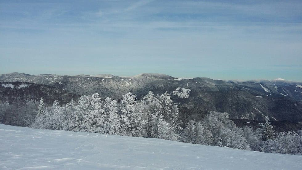 Mountain in vosges