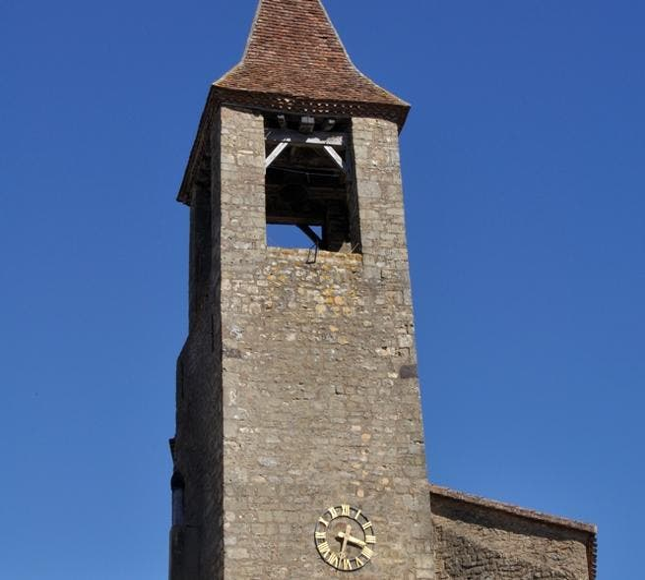 Campana de iglesia en Belvès