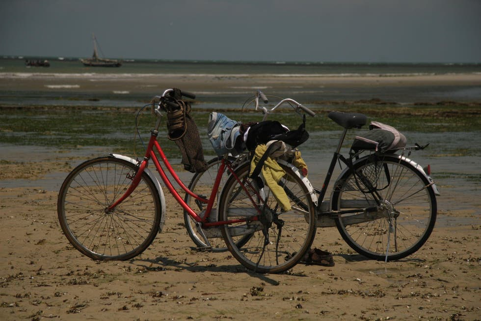 Bicycle in Bagamoyo