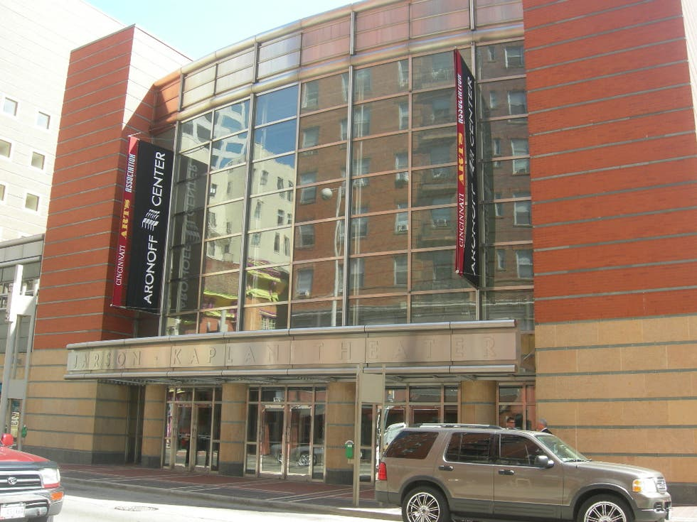 Piazza a Aronoff Center a Cincinnati