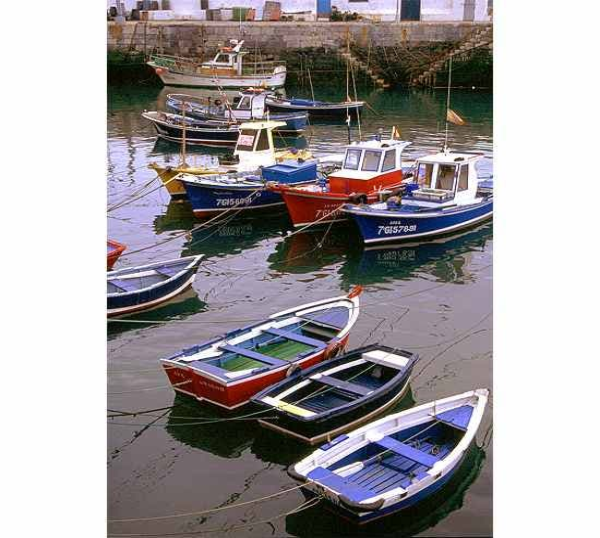 Muelle en Luanco