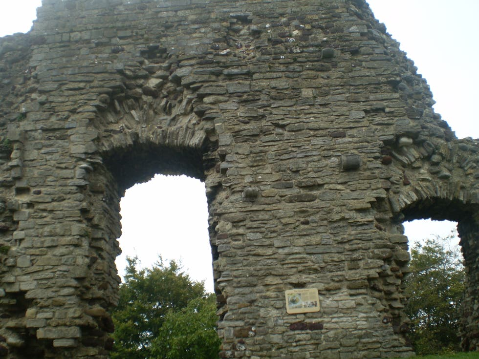 ruins in Christchurch